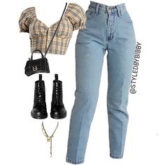 Black shoes booties style ootd street wear everyday looks jeans shirt Indie Outfits, Edgy Outfits, Teen Fashion Outfits, Swag Outfits, Retro Outfits, Cute Casual Outfits, Look Fashion, Girl Outfits, Guy Fashion