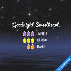 Blend Recipe: 3 drops Lavender, 3 drops Bergamot, 2 drops Orange
