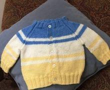Pletený svetr pro miminko - blog - 1 Baby Knitting, Blog, Sweaters, Fashion, Knitting Sweaters, Moda, Fashion Styles, Baby Knits, Blogging