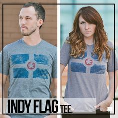 Indianapolis (Indy) Flag Tee