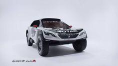 Ontdek de nieuwe Peugeot 3008 DKR die samen met het Dream Team zal deelnemen aan de Dakar 2017!
