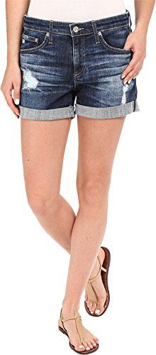 AG Adriano Goldschmied Womens The Hailey Shorts in 11 Years Sail Away 11 Years Sail Away Shorts * You can find out more details at the link of the image.(This is an Amazon affiliate link and I receive a commission for the sales)