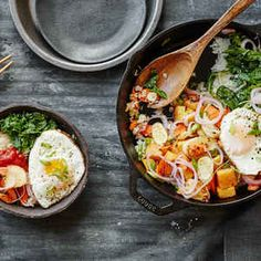 Miso Vegetable Bibimbap with Pickled Shallot