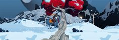 Gif from forthcoming game Death's Gambit << Looks gorgeous!