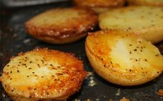 Delicious Crispy Parmesan Potatoes Recipe - Views From the Ville