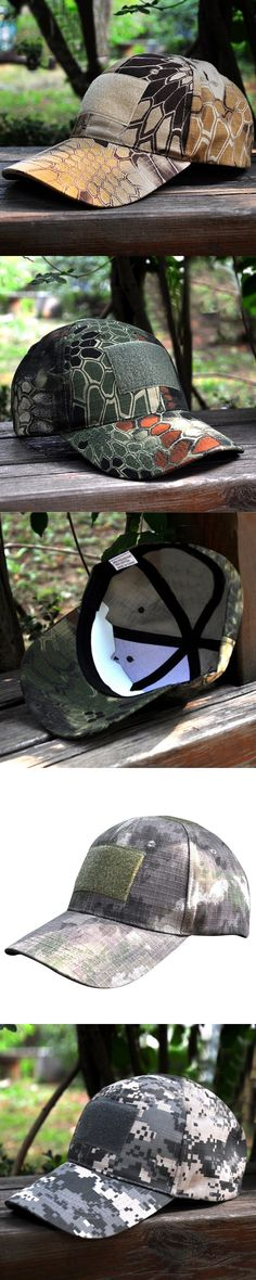 High Quality Men Women Digital Camo Tactical Camouflage Flag Patch Baseball Cap Unisex Fashion Hats