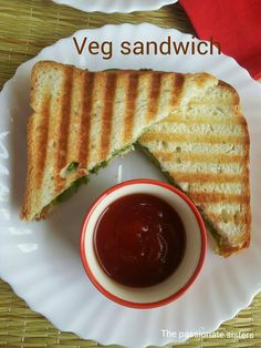 Vegetable Sandwich - perfect to munch as you go!!!