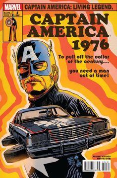 variant cover for captain america living legend #4 by francesco francavilla