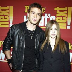 Avril Lavigne and Justin Timberlake were on hand for a November 2002 People magazine event in NYC.