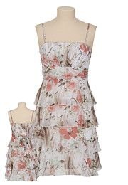 Floral tiered dress - Maurice's