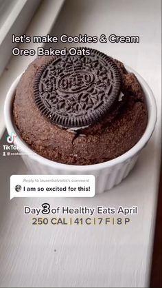 Healthy Dessert Recipes, Sweets Recipes, Healthy Baking, Vegan Desserts, Healthy Desserts, Snack Recipes, Low Calorie Baking, No Calorie Foods, Low Calorie Recipes