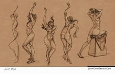 John Choi gesture drawing http://www.johnchoidesign.com/