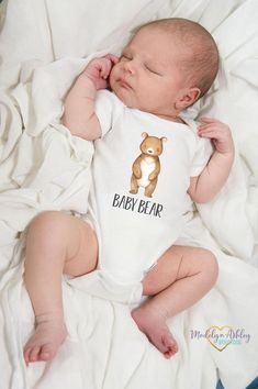 Baby Shower Gift - Baby Bear Onesie® - Baby Boy Clothes - Baby Boy Bodysuit - Baby Bodysuit - New Baby Bodysuit - Coming Home Outfit Boy Onesie, Baby Bodysuit, Custom Baby Onesies, Birthday Boy Shirts, Personalized Baby Gifts, Coming Home Outfit, New Baby Gifts, Baby Boy Outfits, Baby Shower Gifts