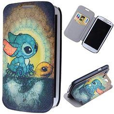 not an s4 cas, but still adorable Cartoon Rabbits Pattern Full Body Case with Stand PU Leather Case for Samsung Galaxy S3 I9300 – USD $ 5.99