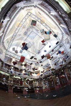 Flying Books (Foto: Cortesia Universidad Nacional de Tres de Febrero / Muntref)