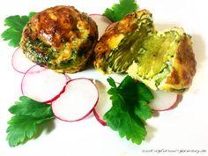 Zucchini-Ei-Muffins: mit Parmesan, Mozzarella, Eiern, Zucchini, Petersilie, Schnittlauch und Mandelmilch. low carb kochen und backen.