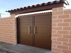 New Gate Design, Gate Wall Design, House Main Gates Design, Exterior Wall Design, Steel Gate Design, Front Gate Design, Garage Door Design, House Design, Gate Designs Modern