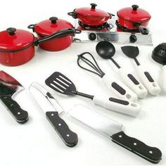 Awesome chef set for kids (13 pieces)