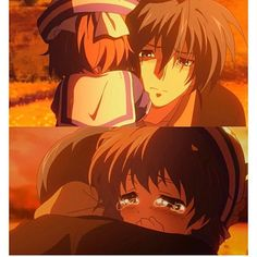 Goodnight 😴🌙 #clannad #sad #cute #kawaii #kawaiigirl #daddysgirl #tomoyaokazaki #ushiookazaki #ushio #tomoya