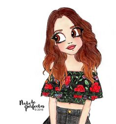 "17.2 mil Me gusta, 326 comentarios - Nada de Perfectas (@nadadeperfectas) en Instagram: ""Happy 21st Birthday @lauramarano! ✨ Felices 21 @lauramarano! ✨ #drawings…"""