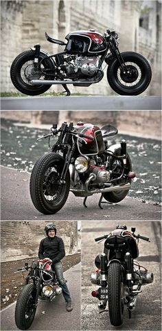 BMW R90S custom Beemer - built by Sébastien Beaupère Doesn't look.comfortable...but it does look bad-ass.