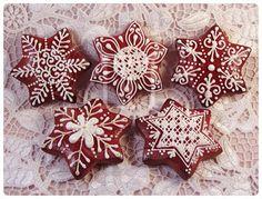 Sugar Cookie Icing, Fondant Cookies, Sugar Cookies, Cupcakes, Gingerbread Cookies, Christmas Cookies, Christmas Holidays, Cookie Tutorials, Ginger Cookies