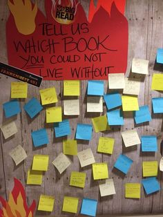 """Low-tech library display """"Which book could you not live without?"""" Courtesy of Kenosha Public Library."""
