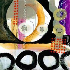 collage journeys: Scribble Painting Progress