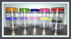 A personal favorite from my Etsy shop https://www.etsy.com/listing/450708524/acrylic-custom-mason-jar-cup-mason-jar