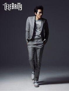 Song Seung Hun - The Celebrity Magazine April Issue '14