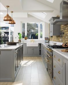 """296 Likes, 6 Comments - deVOL Kitchens (@devolkitchens) on Instagram: """"A beautiful kitchen filled with sunshine and style. #devolkitchens"""""""