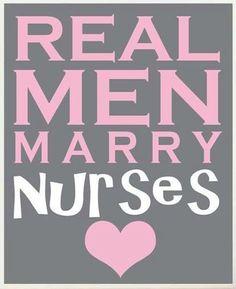 Feel safe at night, sleep with a nurse!