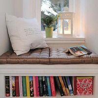 reading nooks - partout dans la maison.