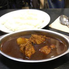 カシミールカレー 危なかった辛さで咳き込みそうになった(咳するとまだ激痛が走る) #デリー #カレー #curry #湯島 #上野