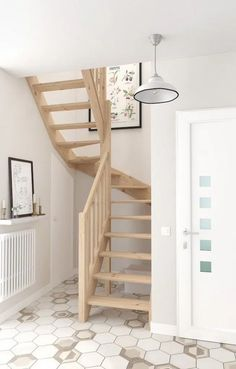 62 newest small loft stair ideas for tiny house 6 Small Space Staircase, Modern Staircase, Staircase Design, Staircase Ideas, House Staircase, Escalier Design, Stair Makeover, Staircase Remodel, Loft Stairs