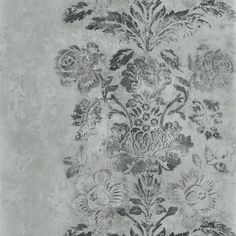 damasco - slate wallpaper | Designers Guild