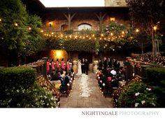 what a beautiful setting - V. Sattui Winery wedding by Nightingale Photography  nightingalephotos.com