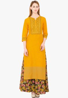 Hey Check this out !ZOEYAM'S Yellow Embroidered Kurta from Jabong. http://jbo.ng/8PADM7e