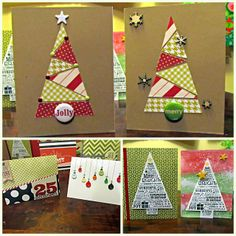 Scrap Your Mama Never Taught You: Holiday Cards