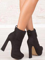Divna Boots - μαύρο