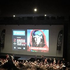 #EOFT stoere filmpjes kijken #beatrixtheater by wycherbos