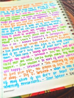 Quotes in planner for inspiration