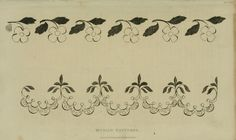 EKDuncan - My Fanciful Muse: Regency Era Needlework Patterns from Ackermann's Repository 1826 - 1828