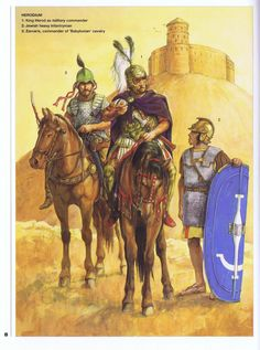 Nabateans, Judean , Arameans and Syrian natives - Page 2 - Tutorials, references and art help - Wildfire Games Community Forums Ancient Rome, Ancient Art, Ancient History, Historical Art, Historical Pictures, Roman Kings, Greek Warrior, Classical Antiquity, Roman History