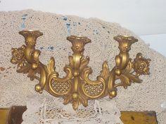 Vintage Dart Ind.  Ornate Gold  Detailed by Daysgonebytreasures