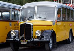 Post Bus, Busses, Coaches, Old Cars, Motorhome, Switzerland, Chevy, Honey, Poster