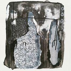 #daysofbwbw #39  Oddball. . #abstractart #drawing #handdrawn #markmaking #itiswhatitis #justdrawing #contemporaryart #indianink #blackandwhite #whiteonblack #blackonwhite #whitepens #johannamepham #100daysof #chateauOart #fineart #layering #artonpaper #100days #oddball