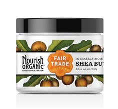 This luxurious #FairTrade shea butter from Nourish Organic will give dry skin a boost. Perfect for #MothersDay. #FairMoms