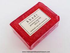 Khadi Handmade Soaps Review   Makeup and Beauty Treasure
