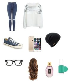 Utcai by tamihoran on Polyvore featuring MANGO, Topshop, Converse, Coal and Essie